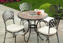 About Mosaic Patio Furniture