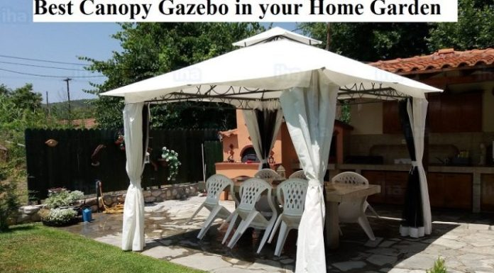 Best Canopy Gazebo in your Home Garden