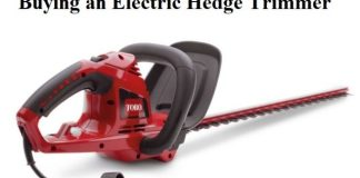 Electric Hedge Trimmers Guide: Buying an Electric Hedge Trimmer