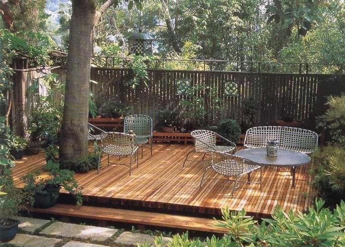 How to Install Simple Sun Floating Deck Plans