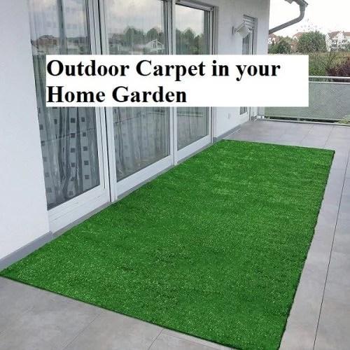 Outdoor Carpet in your Home Garden
