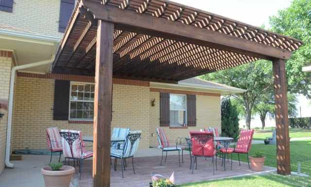 Enjoy with Pergola and Pergola Bench in your Outdoor Garden