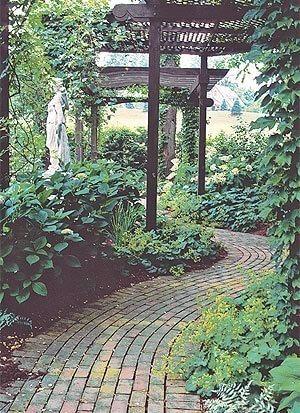 garden paths curved