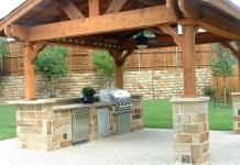 Outdoor Kitchen Designing Plans