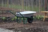 We have a wheelbarrow now