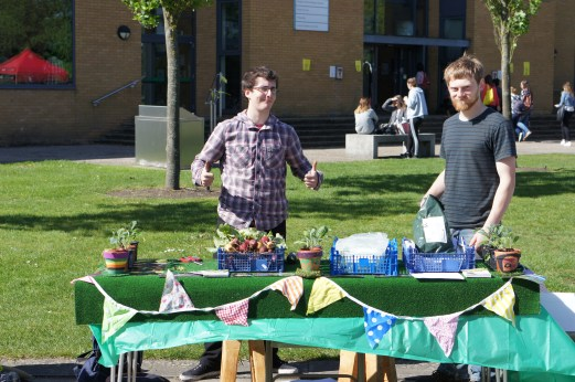 Our Spring Market Stall
