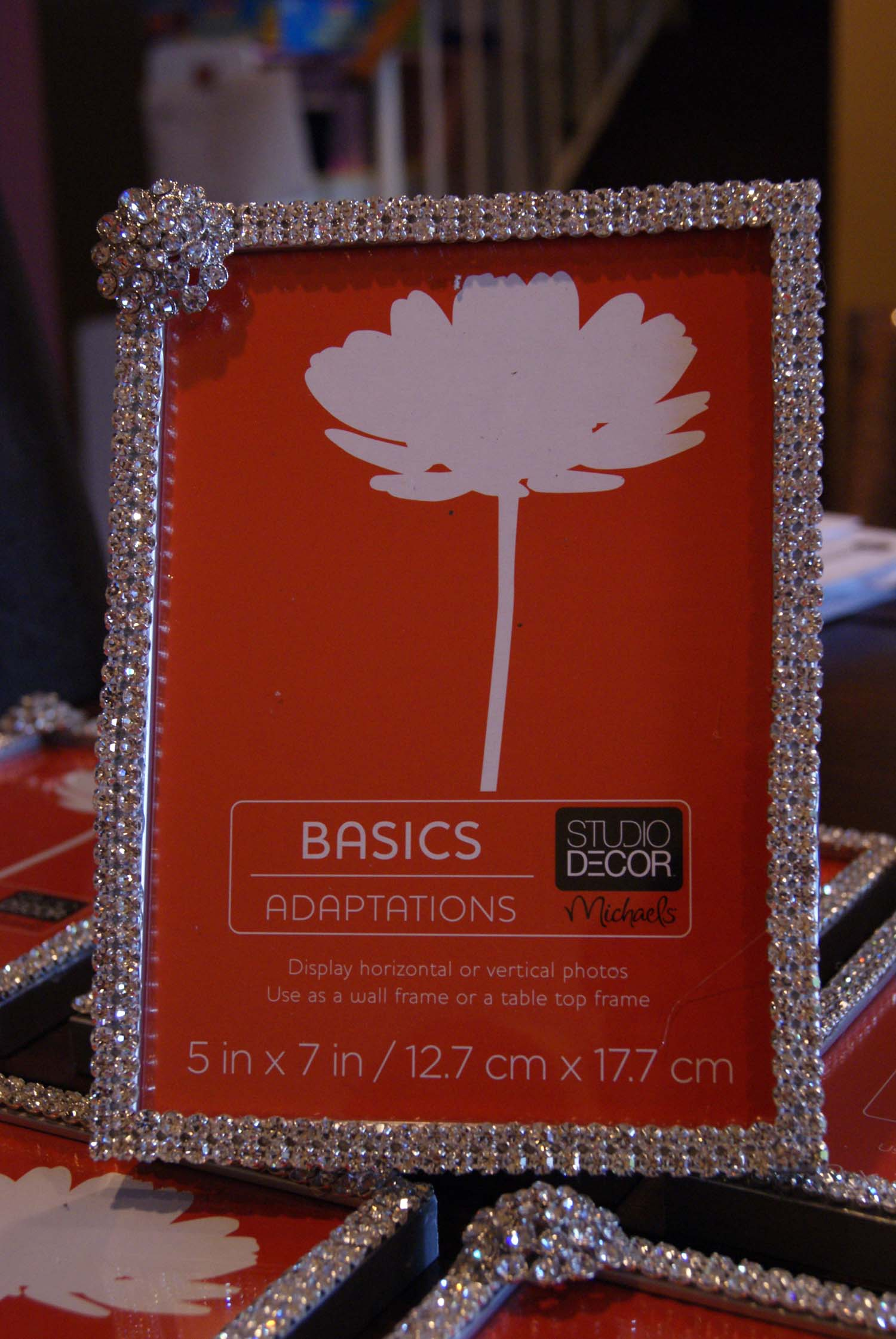 DIY Ideas Bling Wedding Picture Frames  Gardens Of Paradise