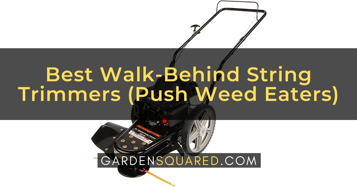 Best Walk Behind String Trimmer Reviews