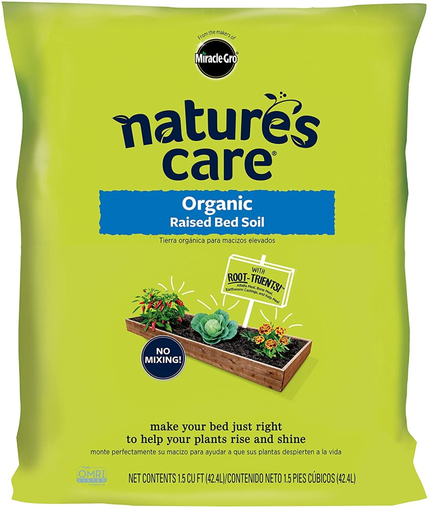 natures care raised bed soil