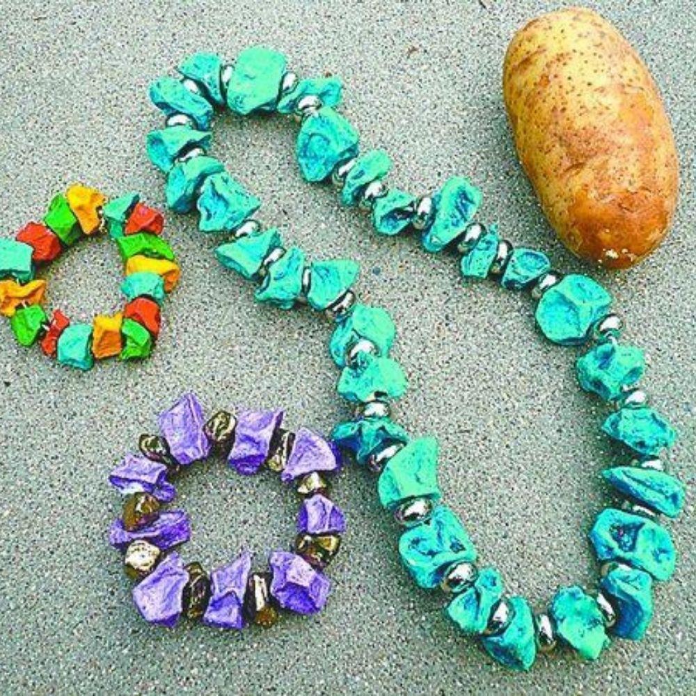 potato necklace