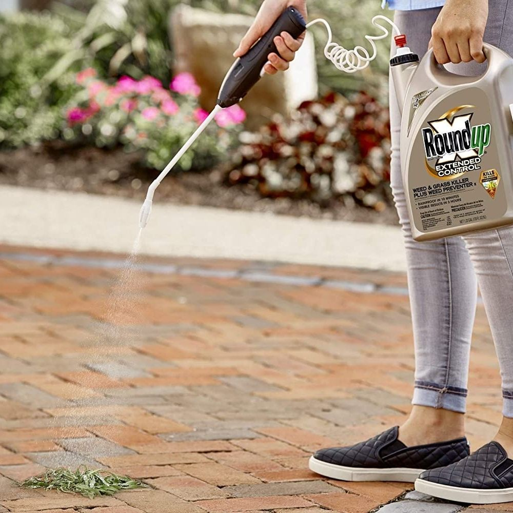 Roundup 5235010 Ready-To-Use Extended Control Weed & Grass Killer Plus Weed Preventer II with Comfort Wand