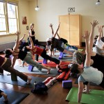 garden street yoga students