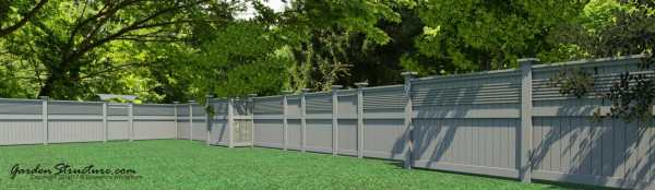 Build these fences and gates with our designs