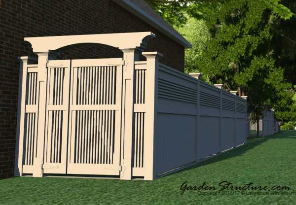 Gate designs and plans for gates