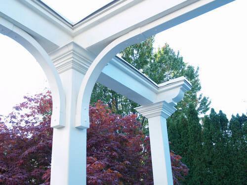 Architectural pergola design