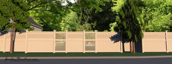 Fence Designs and Plans