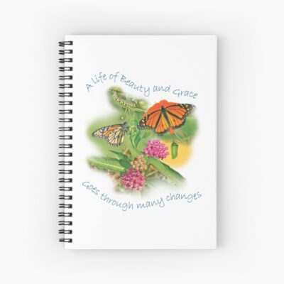 Gardens With Wings notebook for sale on Redbubble