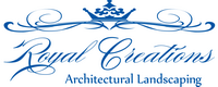 Royal Creations Architectural Landscaping Logo