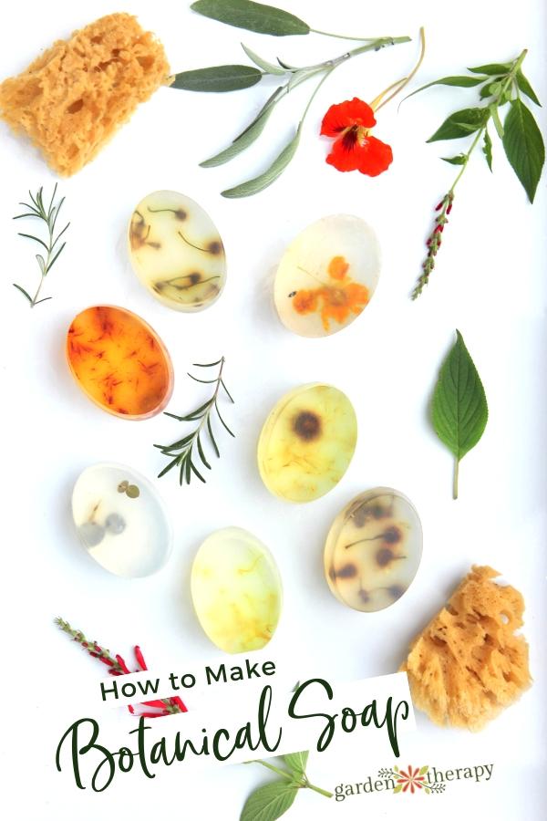 How to Make Botanical Soap
