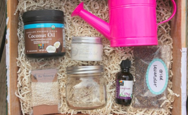 Homemade Bath And Body Gifts Kids Can Make Garden Therapy