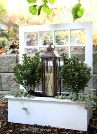 A Wonderful Winter Window Box Planter (That You Can Make ...
