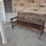 Front Porch Bench Seat Garden To House