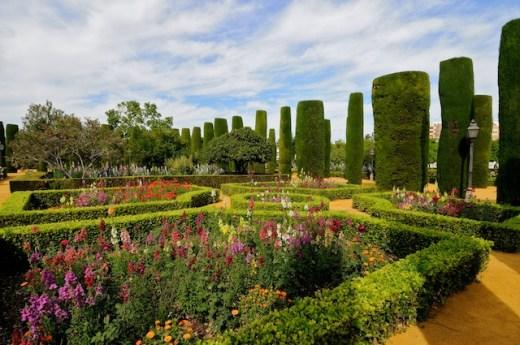 Cordoba, Alcazar Gardens by Chin Wong