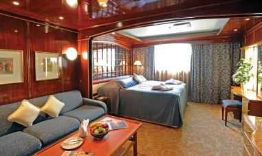 Suite aboard the Island Sky