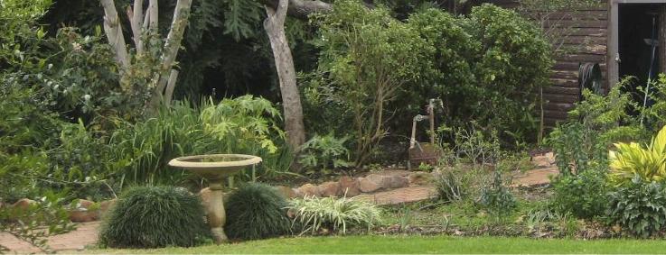 8. Jones garden Griffith Festival of Gardens 2014
