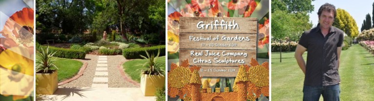 Griffith Festival of Gardens slider