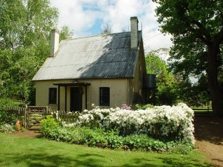 Coachman's Cottage in spring