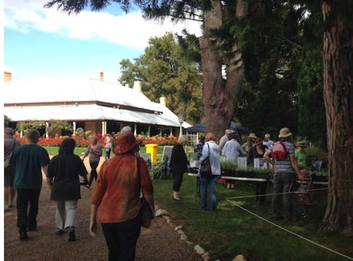 Lanyon plant fair entrance