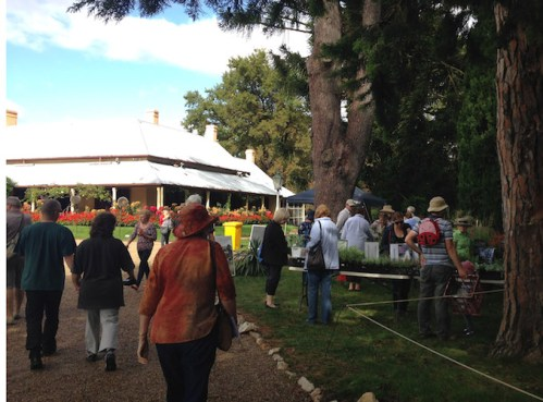 Lanyon plant fair entrance