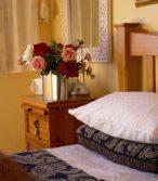 Bedroom at Kamahi Cottage