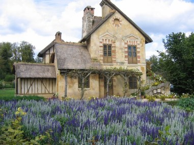 Cottage built for Marie-Antoinette
