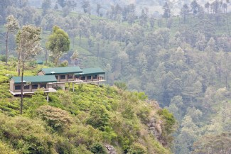 Mandulkelle Tea and Eco Lodge magnificent views