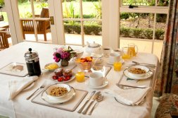 Delicious breakfasts at Havelock House, Hawke's Bay NZ