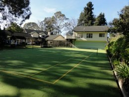 Have a game of tennis at Havelock House Hawkes Bay NZ