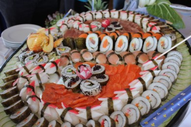 Delicious food aboard