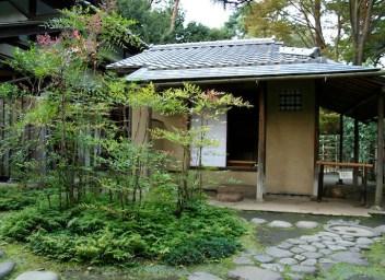 Japan front garden Edo-Tokyo Open-air Architectural Museum