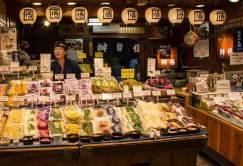 Japanese fruit stall