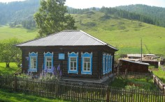 Russian traditional farmhouse