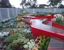Burnley's roof garden