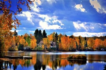 Canada, Quebec - fall landscape