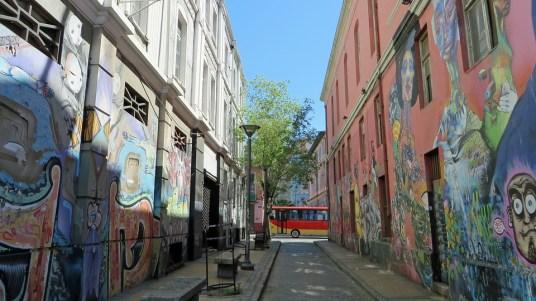 Chile, Valparaiso - street art