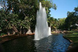 Fountain in the George Brown Darwin Botanic Gardens Photo Stephen Michael Barnett