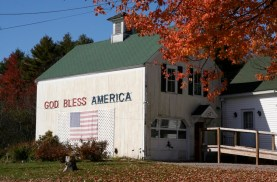 USA, New England - God Bless America