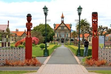 Bath House in the Government Gardens, Rotorua New Zealand