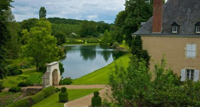 Jardin du Plessis-Sasnières, Normandy, France