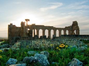 Morocco, Volubilis - Roman ruins. Photo Chico Boomba via Flickr